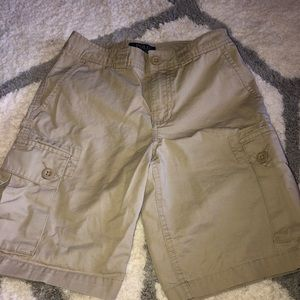 Ralph Lauren boys tan cargo shorts size 10